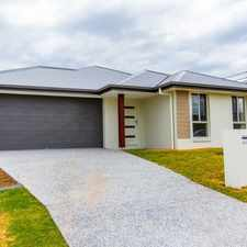 Rental info for AS NEW LOW MAINTENANCE FAMILY HOME in the Upper Coomera area