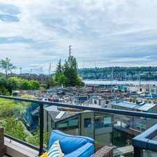 Rental info for Chic Lake Union Lifestyle in the Eastlake area