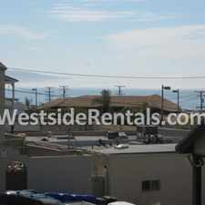 Rental info for Manhattan Beach upper level 2 bedroom one block from water in the 90266 area