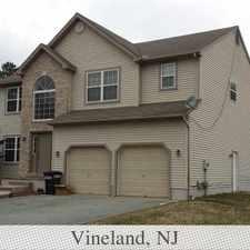 Rental info for House for rent in Vineland. Washer/Dryer Hookups!