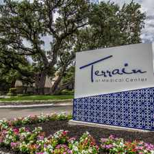 Rental info for Terrain at Medical Center in the San Antonio area