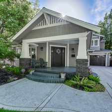 Rental info for 1625 39th Street in the East Sacramento area