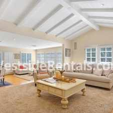 Rental info for Point Dume Ranch House w Beach Key