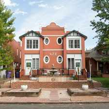 Rental info for 428 South Sherman Street in the Washington Park West area