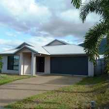 Rental info for NEAT, DURABLE & INVITING FAMILY HOME in the Cairns area