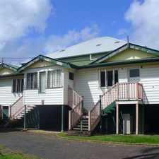 Rental info for Just a 10 mintue walk to town in the Maryborough area