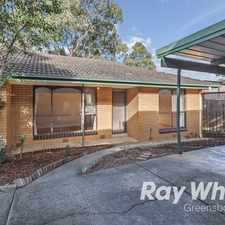 Rental info for Well located two bedroom in the Melbourne area