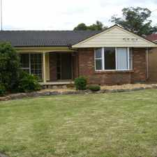 Rental info for Fantastic Family Home- Rumpus room and Rear deck in the Sydney area