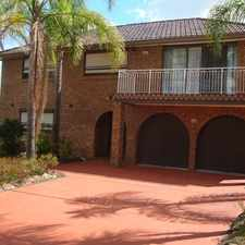 Rental info for LARGE FAMILY HOME WATER INCLUDED in the Edensor Park area