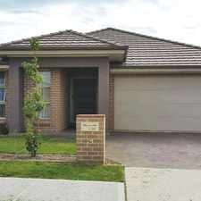 Rental info for Entertaining is a breeze in this amazing home. Featuring; in the Sydney area