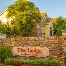 Rental info for The Lodge At River Park