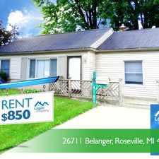 Rental info for 26711 Balanger #1