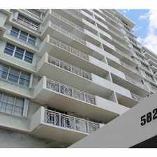 Rental info for 5825 Collins Ave #12J