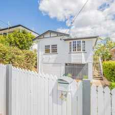 Rental info for Stylish Renovated Character Home in the Yeronga area