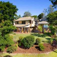 Rental info for *** APPLICATION NOW APPROVED *** LOCATED IN PRESTIGIOUS MT OMMANEY. 6 BED. Air Con. in the Jindalee area