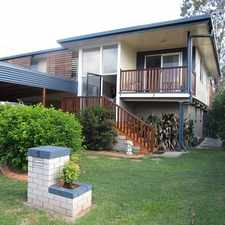 Rental info for Perfect Family Home With Large Deck For Entertaining in the North Booval area