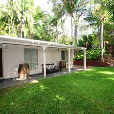 Rental info for Peaceful & Private at the base of Mount Coolum in the Sunshine Coast area
