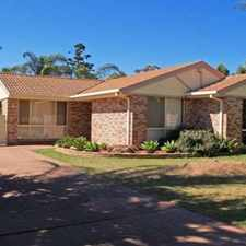 Rental info for 3 BEDROOM HOME FOR THE ENTERTAINER in the Narellan Vale area