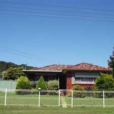 Rental info for Large Family Home with Lake Views ( Shared Block) in the Wollongong area