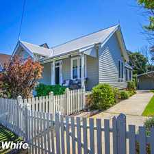 Rental info for Centrally Located Cottage - Live Or Live And Work From Home in the Kiama area