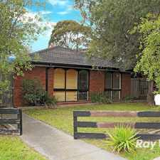 Rental info for Quality Home! in the Frankston North area