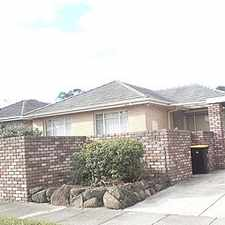 Rental info for Immaculate Family Home with 4 Bedrooms in a Quiet Area but close to all amenities. in the Melbourne area