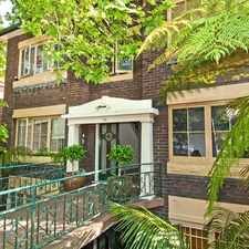 Rental info for Large One Bedroom plus Sunroom Apartment in the Sydney area