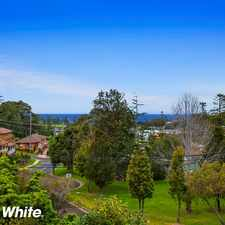 Rental info for Perfectly Positioned in the Kiama area
