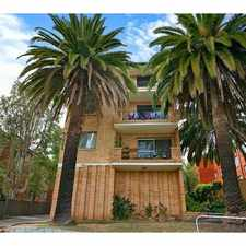 Rental info for NEAT AND TIDY TWO BEDROOM EXTRA STORAGE - DEPOSIT TAKEN in the Sydney area