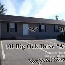 Rental info for 101 Big Oak Circle