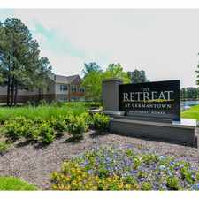 Rental info for The Retreat at Germantown in the Memphis area