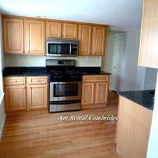 Rental info for Norfolk St in the Cambridge area