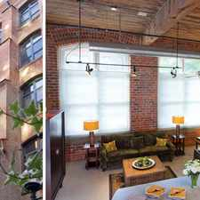 Rental info for American Cigar Lofts in the Church Hill area