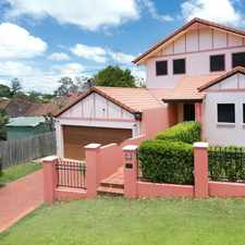 Rental info for IMMACULATELY PRESENTED CONTEMPORARY HOME IN THE HEART OF ASHGROVE in the Brisbane area