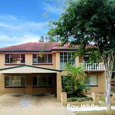 Rental info for Excellent Home For Big Family Or Students Accommodation at Super Handy Location! in the Brisbane area