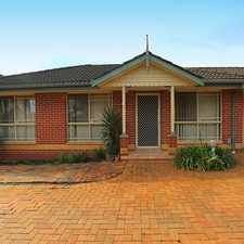 Rental info for Cozy Townhouse in the Sydney area