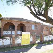 Rental info for SPACIOUS 5 BEDROOM HOUSE LOCATED IN PRIME POSITION WITH DOUBLE LOCK-UP GARAGE