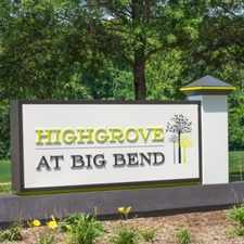 Rental info for Highgrove at Big Bend