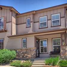 Rental info for Immaculate townhome for sale in Colorado Springs with Central Air! in the Colorado Springs area