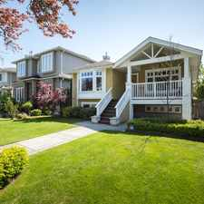 Rental info for W 22nd Ave & MacKenzie St in the Vancouver area