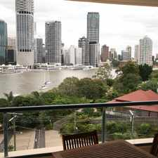Rental info for Fully Furnished One Bedroom with Unbeatable City Views! in the Kangaroo Point area