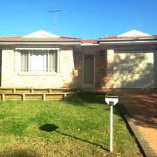 Rental info for Walking distance to shops, schools & transport! in the Sydney area