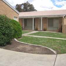 Rental info for UNDER APPLICATION - LOVELY 2 BEDROOM TOWNHOUSE WITH SINGLE GARAGE in the Queanbeyan area