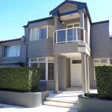 Rental info for Exclusive, resort-style 4-bedroom townhouse in a peaceful parkside locale in the Sydney area