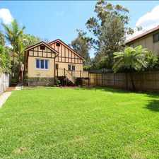 Rental info for CHARMING FAMILY HOME - DEPOSIT TAKEN!! in the Hunters Hill area