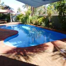 Rental info for Large home with a pool in the Port Hedland area