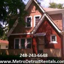 Rental info for Detroit Property Management - Summit in the 48091 area