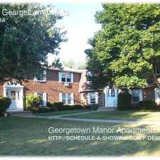 Rental info for 4-108 Georgetown Drive in the Rochester area