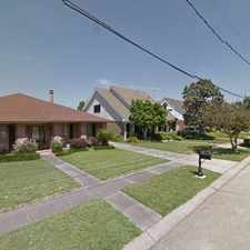 Rental info for Single Family Home Home in Kenner for For Sale By Owner in the Kenner area