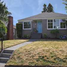 Rental info for Remodeled mid-century modern just 1/2 block to Maple Leaf Playground!